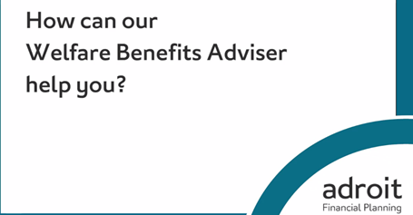 Advice on Benefits by specialist advisers | Adroit